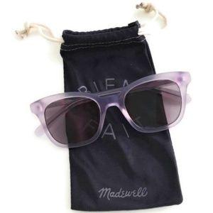 New Madewell Sunglasses Light Purple Flat Lilac